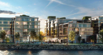 1400 and 1900 Port Imperial, Weehawken. Rendering by Handel Architects