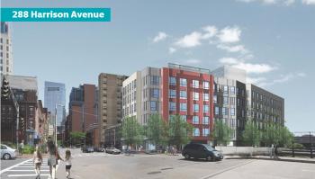 288 Harrison Avenue, Boston, Massachusetts. Courtesy of the Boston Planning & Development Agency