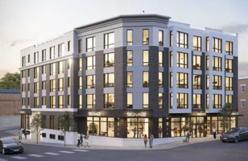 Rendering of 475 Communipaw Avenue courtesy Bodnar Architectural Studio
