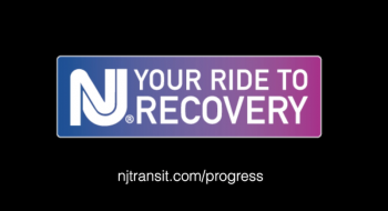 Image reads: NJ Your Ride to Recovery