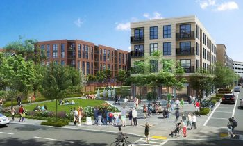 The Jan Karski Way Extension Project in Dorchester. Courtesy of the Boston Planning & Development Agency